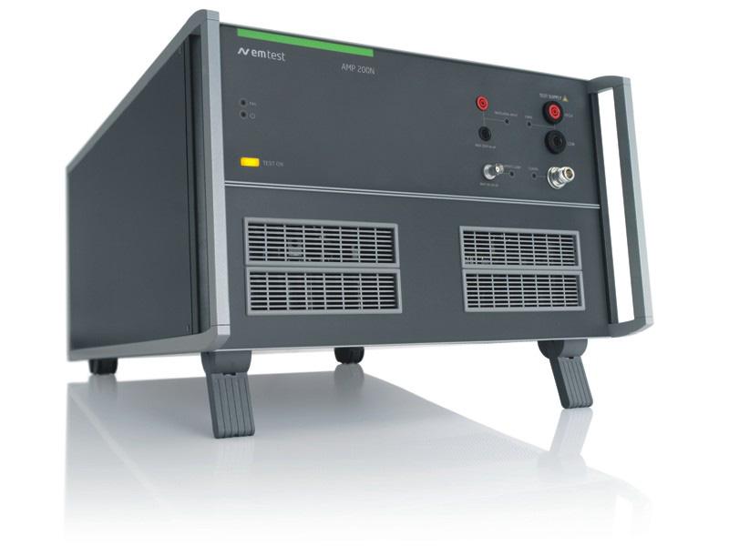 EM TEST AMP 200N2 低频信号放大器,DC (0 HZ) - 500 KHZ,1000 W