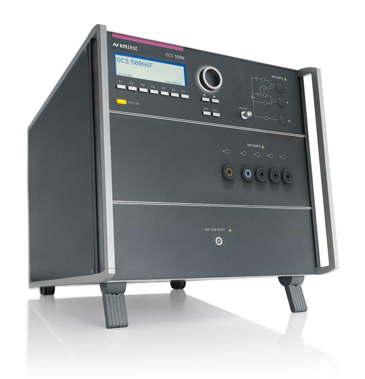 EM TEST OCS 500N6F 快速和慢速阻尼振荡波及振铃波模拟器