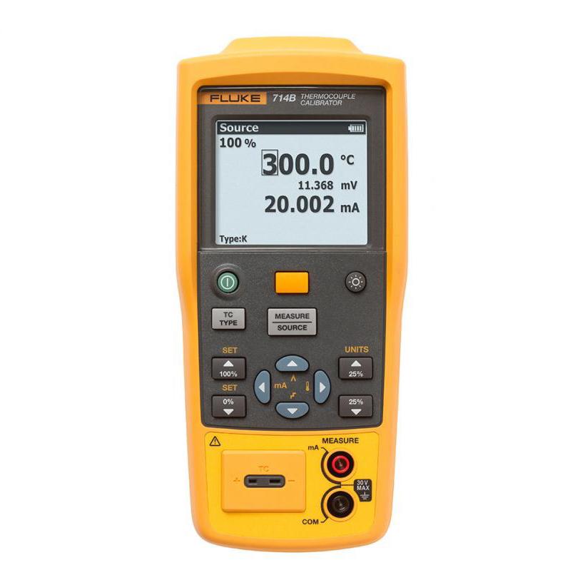 Fluke 714C 热电偶校准器