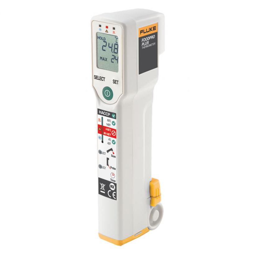 Fluke FoodPro Plus 食品安全测温仪