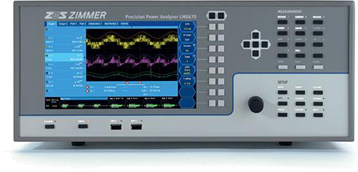 GMC LMG670 高精度双路径功率分析仪