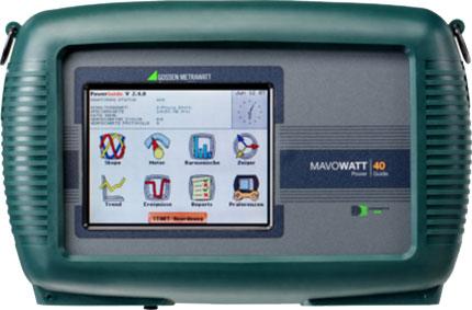 GMC MAVOWATT 40 三相电能及功率分析仪