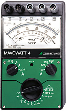GMC MAVOWATT 4 便携式电能质量分析仪