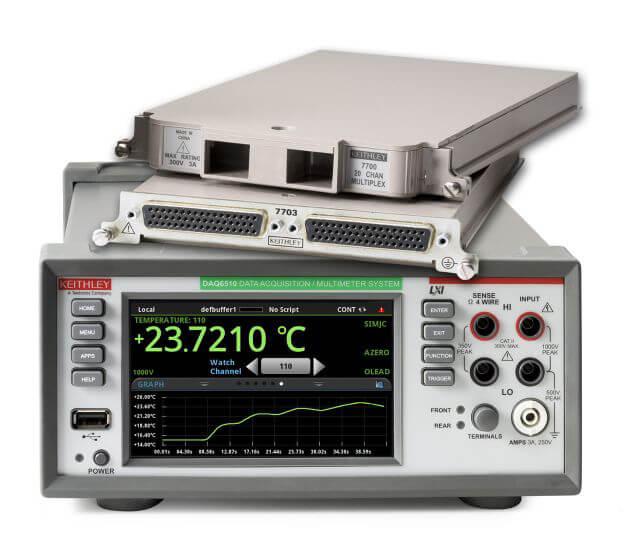 Keithley DAQ6510系列 数据采集和记录万用表系统