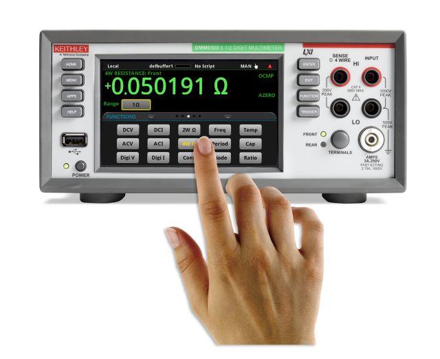Keithley DMM6500 6位半图形触摸屏数字万用表