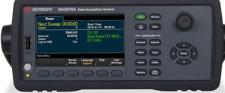 KEYSIGHT DAQ970A 数据采集系统