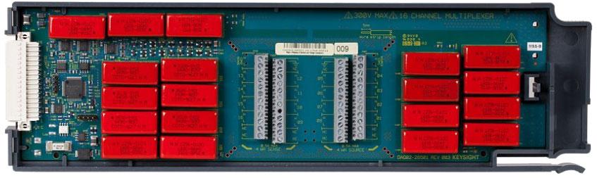 KEYSIGHT DAQM902A 适用于 DAQ970A 的 16 通道多路复用器(2/4 线)模块