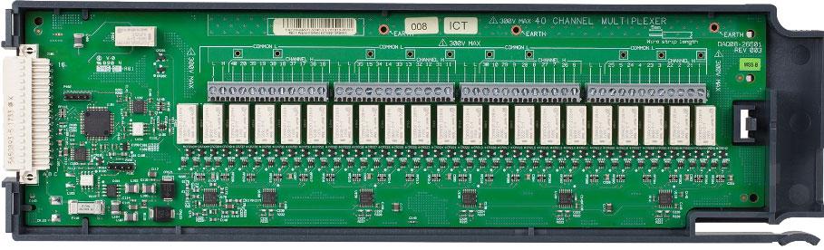 KEYSIGHT DAQM908A 用于 DAQ970A 的 40 通道单端多路复用器模块
