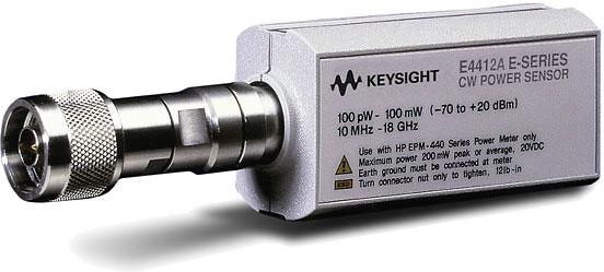 KEYSIGHT E系列 连续波功率传感器