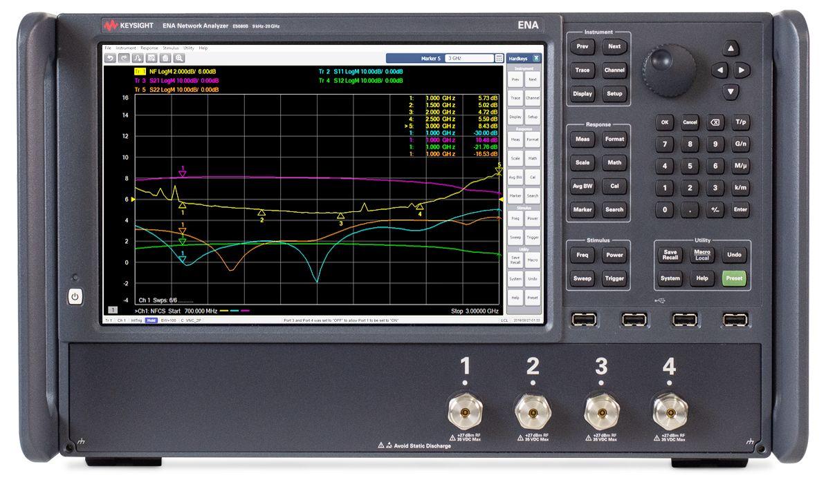 E5080B ENA矢量网络分析仪