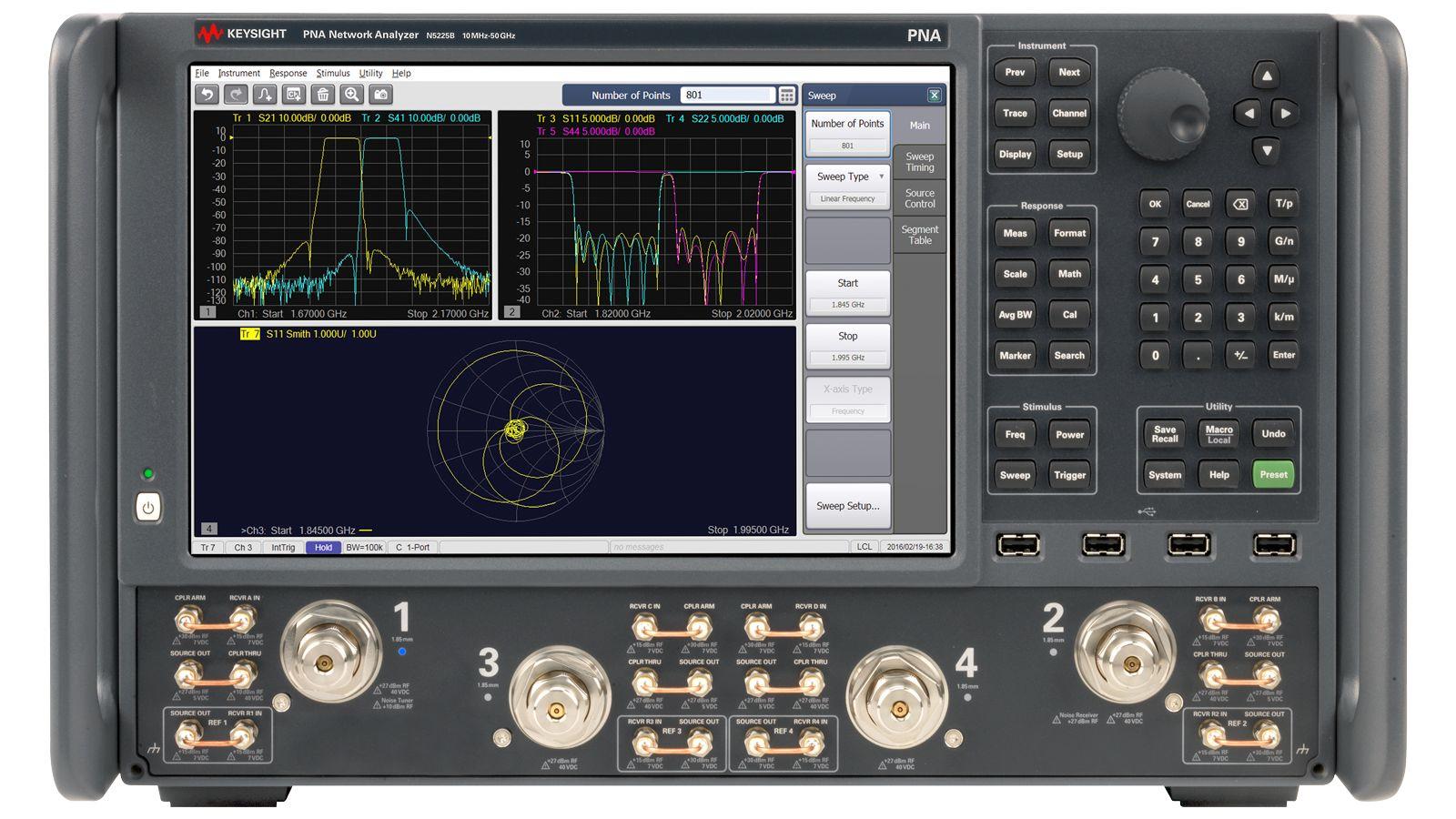 N5225B PNA微波网络分析仪
