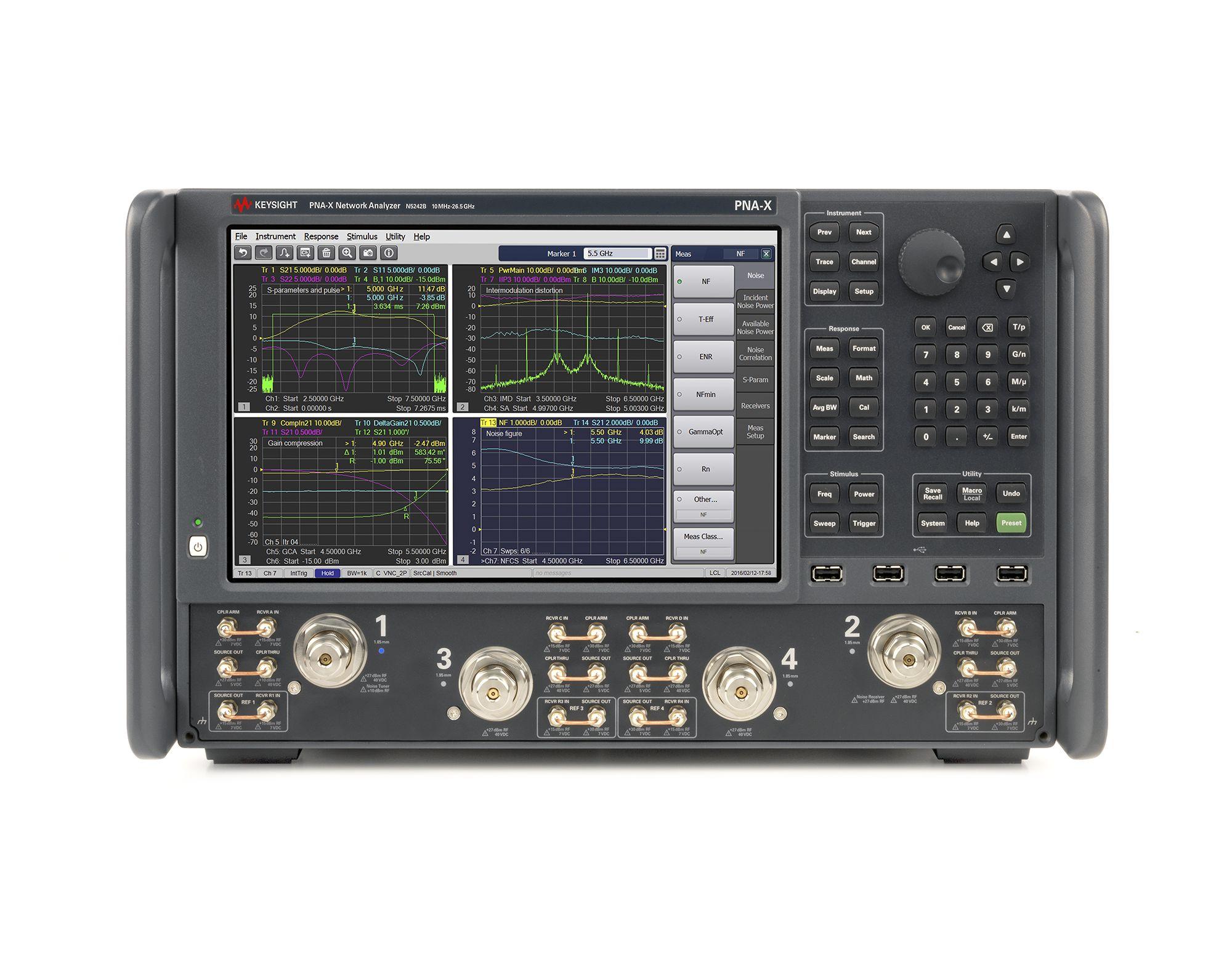 KEYSIGHT N5242B PNA-X 微波网络分析仪