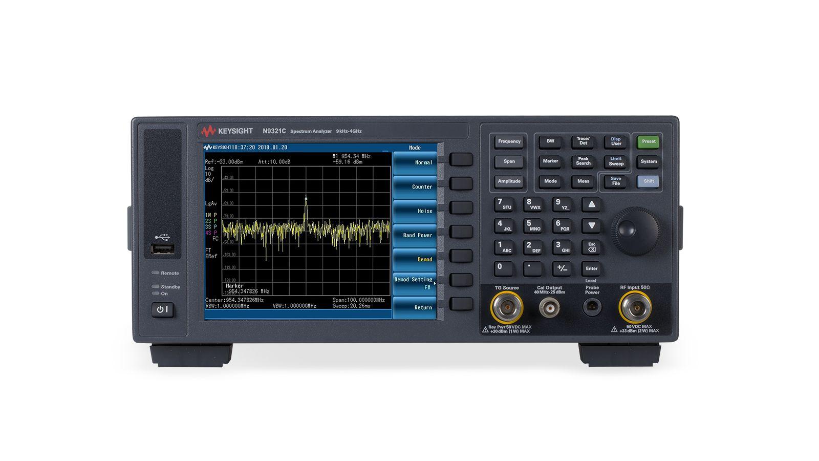 KEYSIGHT N9321C 基础频谱分析仪 (BSA)