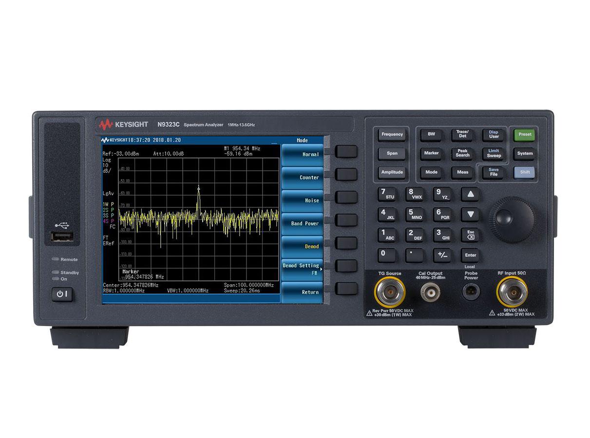 KEYSIGHT N9323C 基础频谱分析仪 (BSA)
