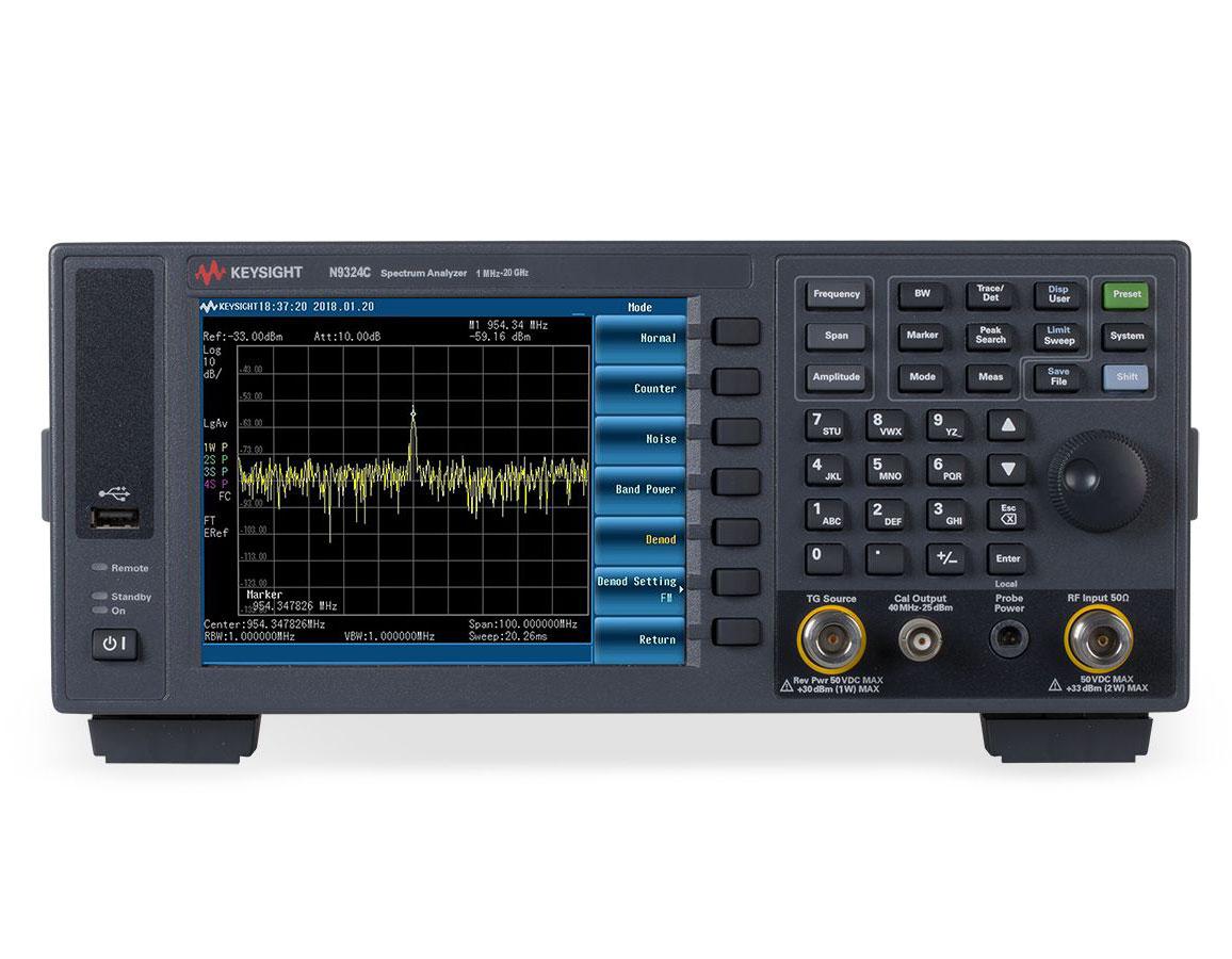 KEYSIGHT N9324C 基础频谱分析仪 (BSA)