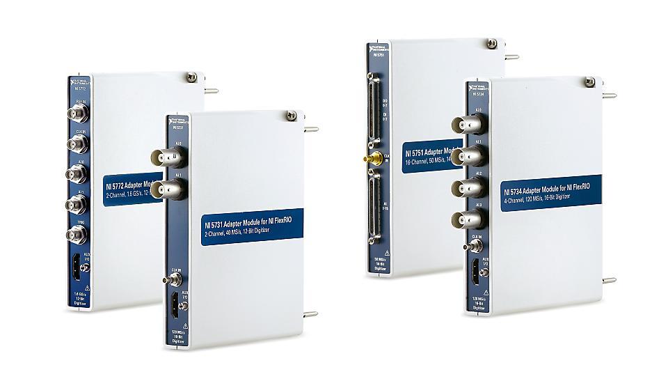 NI NI-5700系列 FlexRIO数字化仪适配器模块