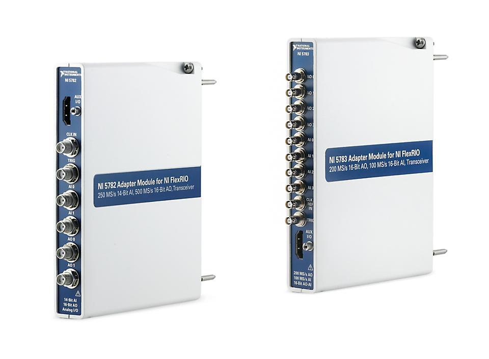 NI NI-5700系列 FlexRIO收发仪适配器模块