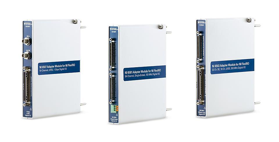 NI NI-6500系列 FlexRIO数字IO适配器模块