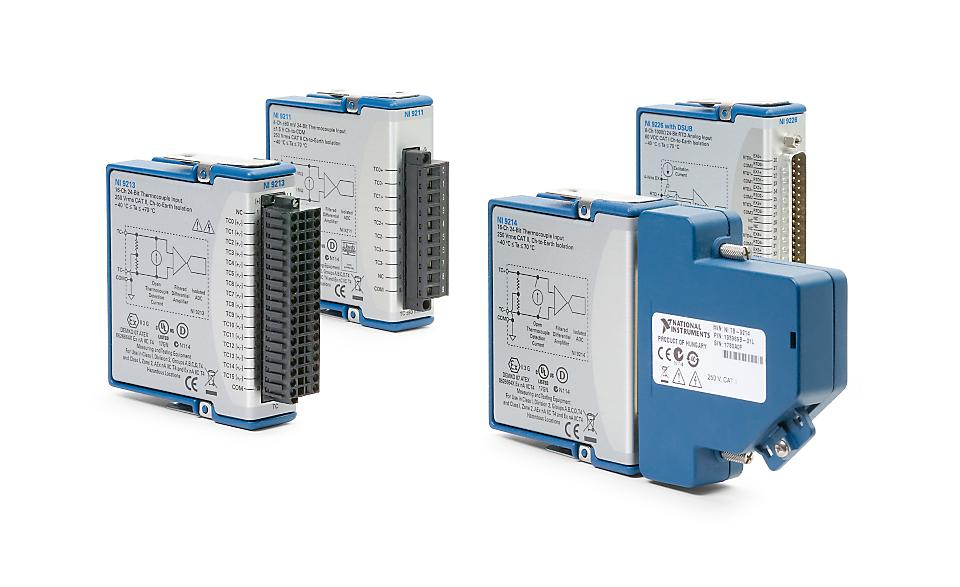 NI 9210/9220 C系列温度输入模块-CDAQ模块