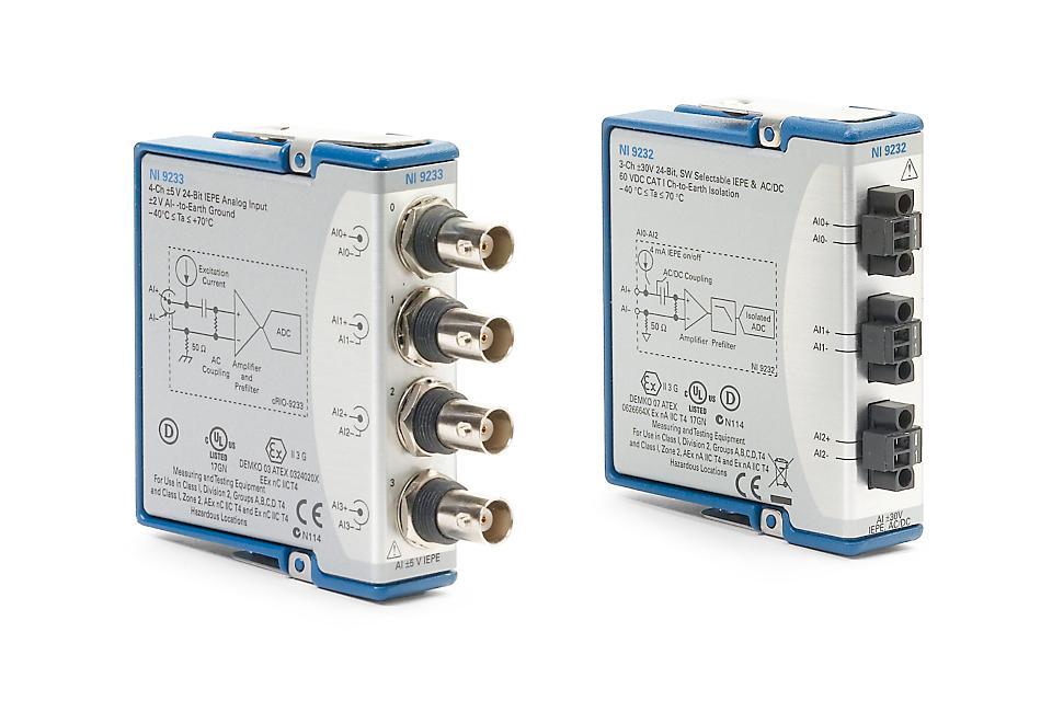 NI 9230 C系列声音与振动输入模块-CDAQ模块