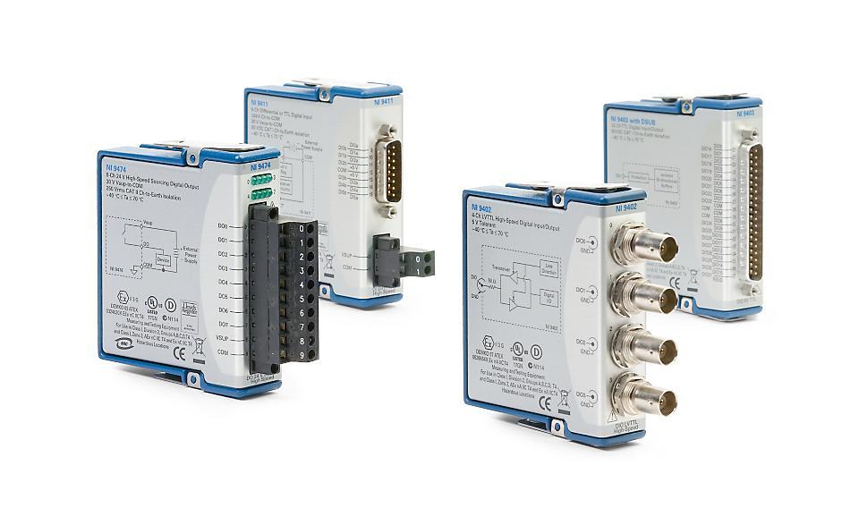 NI 9375/9400 C系列数字模块-CDAQ模块
