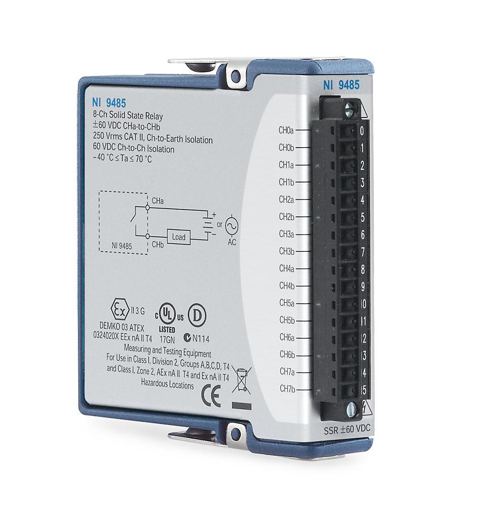 NI 9482/9485 C系列继电器输出模块-CRIO模块