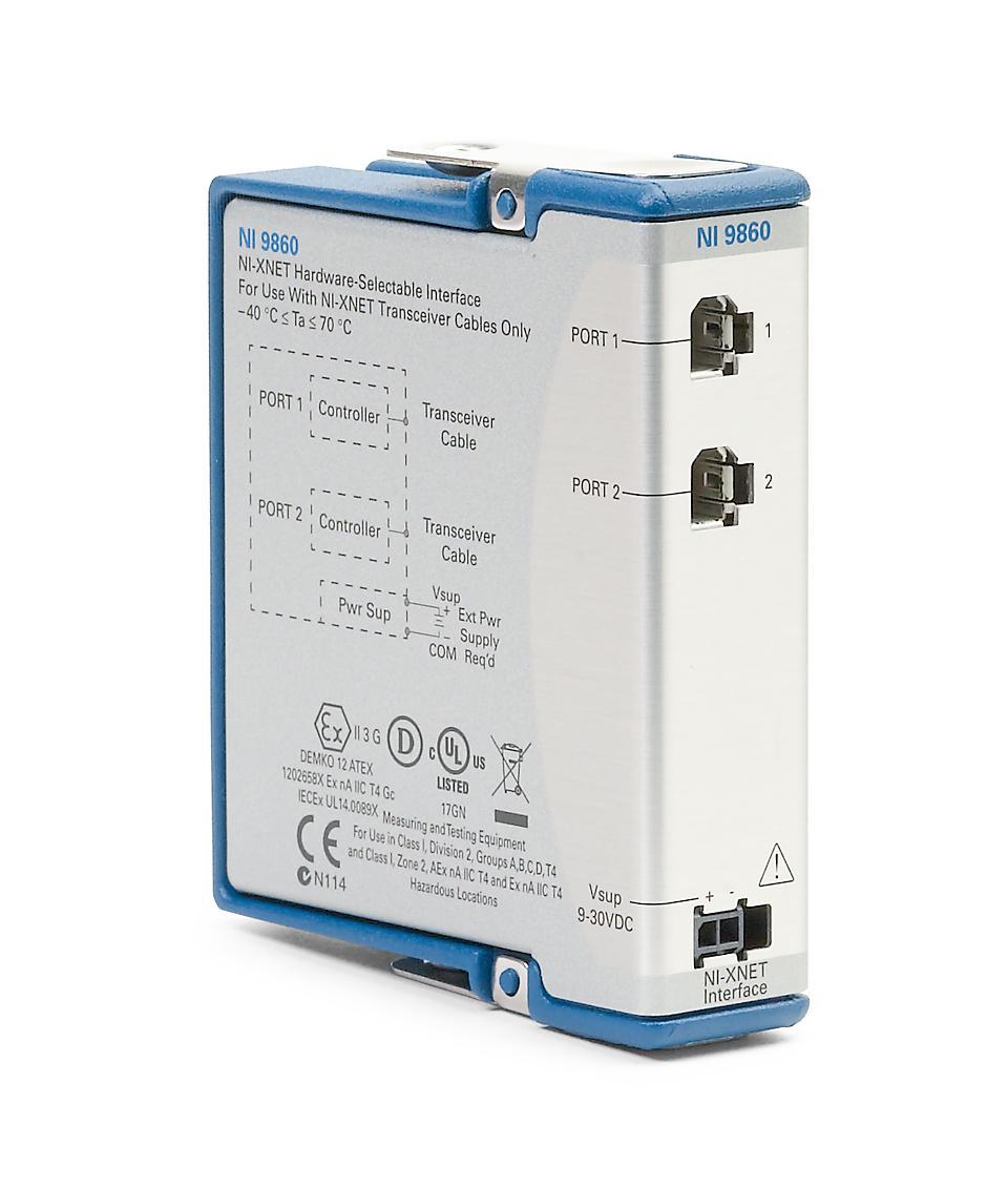 NI 9860 C系列车载多协议接口模块-CRIO模块