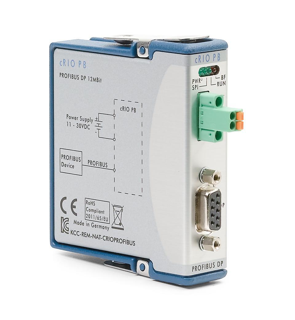 NI 9893 C系列PROFIBUS接口模块
