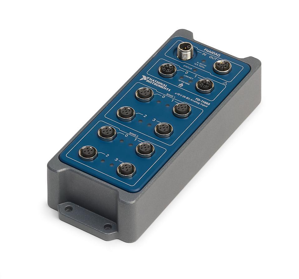 NI FD-11603 FieldDAQ电压输入设备
