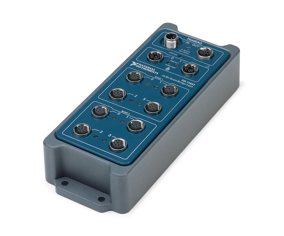 NI FD-11637 FieldDAQ应变/桥输入设备