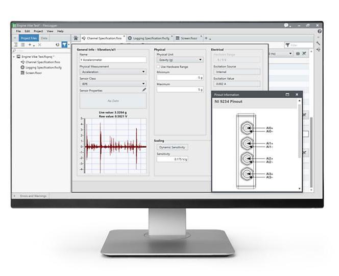 FlexLogger 数据采集和控制应用软件