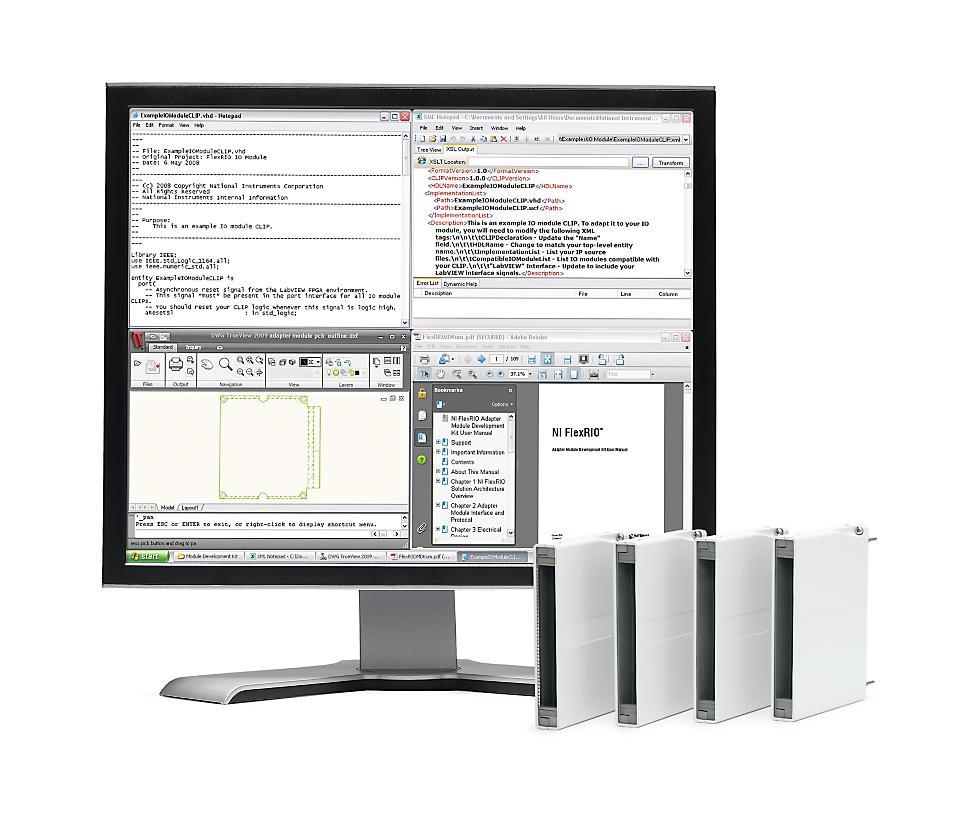 NI FlexRIO 模块开发套件