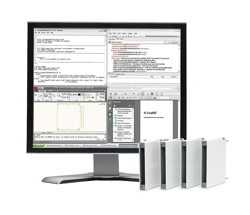 NI FlexRIO 自定义仪器和处理