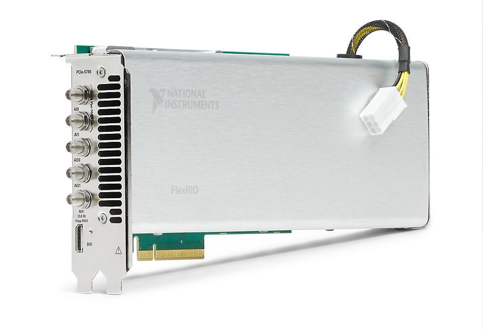 NI PCIe-5700系列 FlexRIO IF收发仪设备