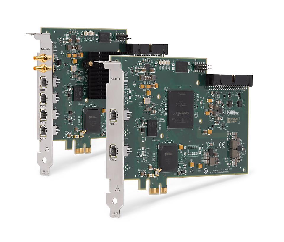 NI PCIe-8510 车载多协议接口设备
