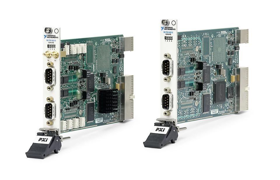 NI PXI-8511/8512/8513 PXI CAN接口模块