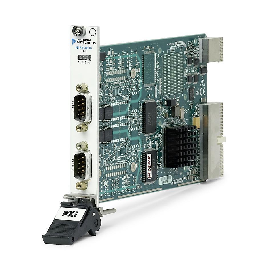 NI PXI-8516 PXI LIN接口模块