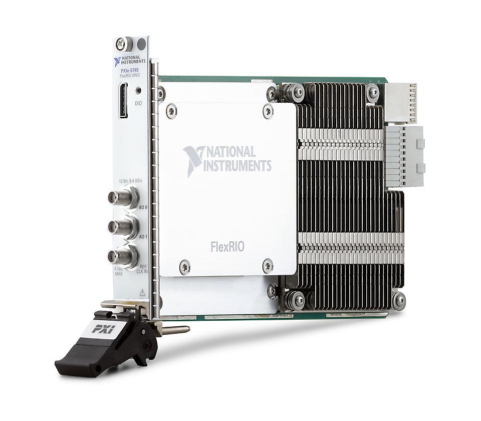 NI PXIe-5745 PXI FlexRIO信号发生器