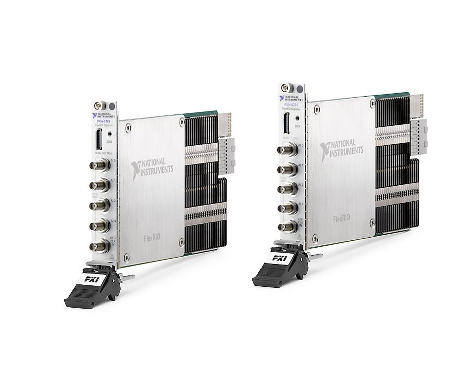 NI PXIe-5700系列 PXI FlexRIO数字化仪