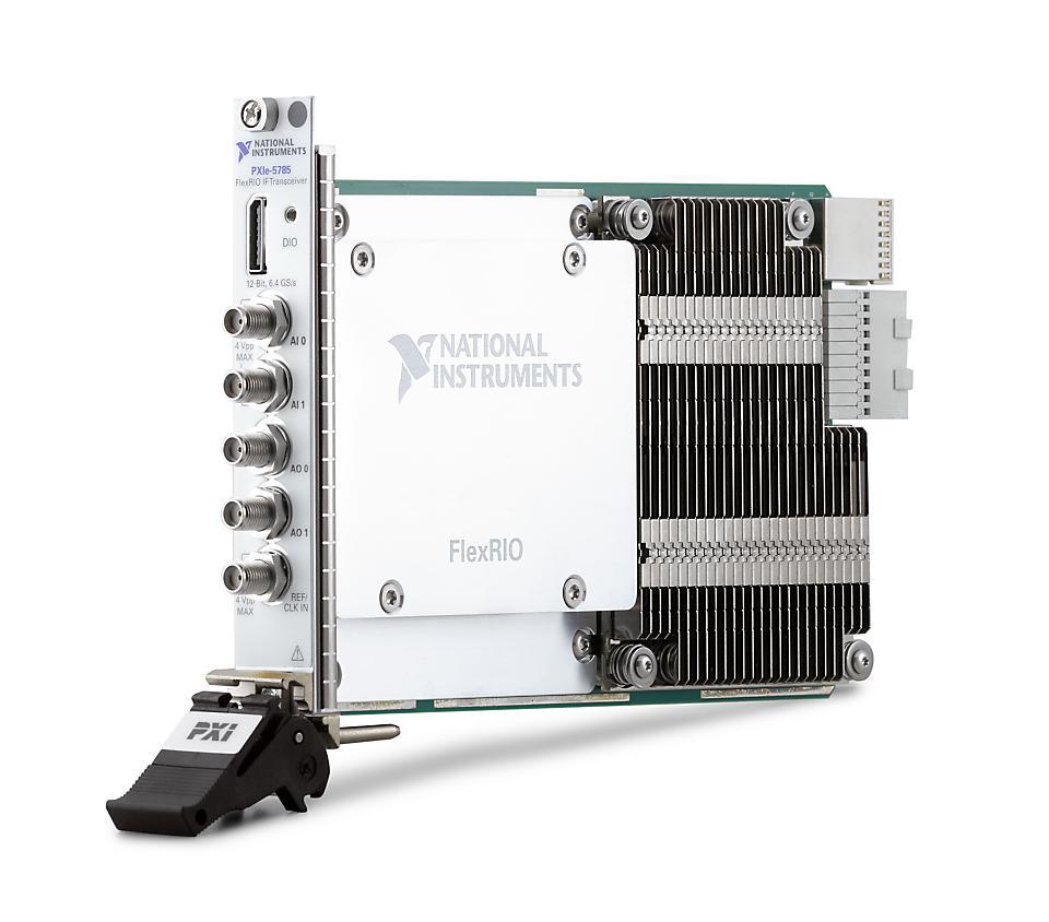 NI PXIe-5785 PXI FlexRIO IF收发仪