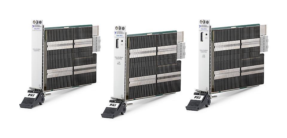 NI PXIe-7910系列 PXI FlexRIO协处理器模块