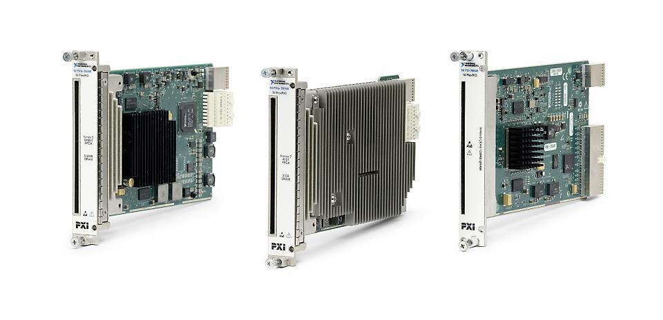 NI PXIe-7900系列 FlexRIO PXI FPGA模块