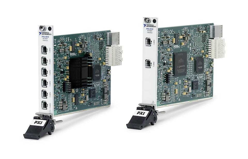 NI PXIe-8510 PXI车载多协议接口模块