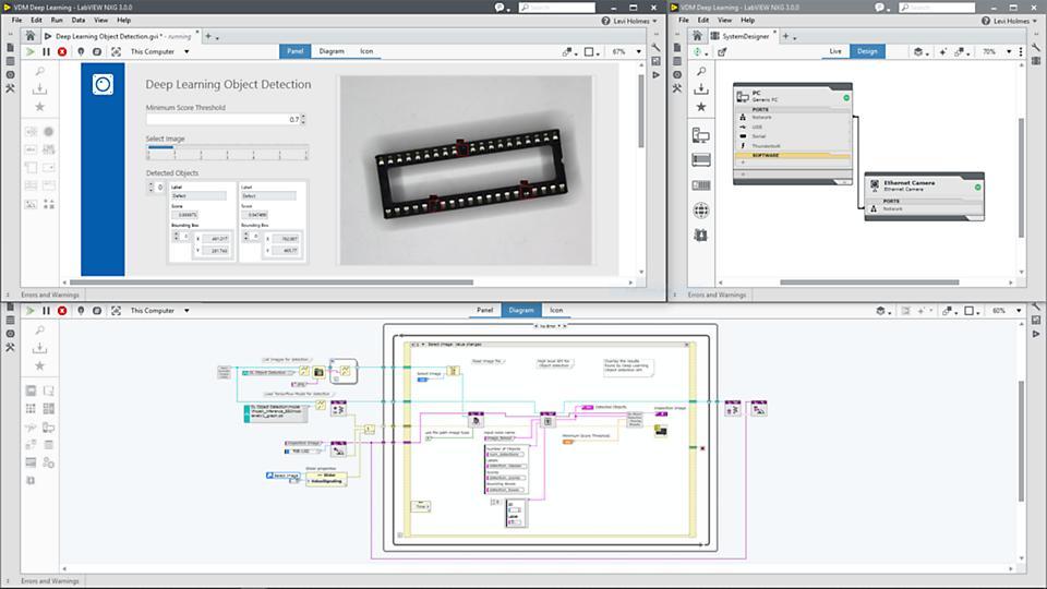 NI 视觉软件套件 软件包和工具包