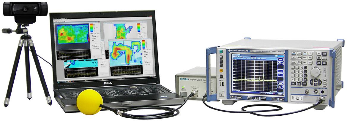 NoiseKen EPS-02系列 空间电磁场可视化系统