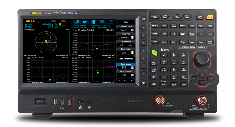 RIGOL RSA5000系列 实时频谱分析仪