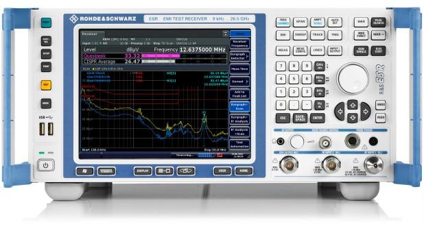 R&S ESR 认证级EMI测试接收机