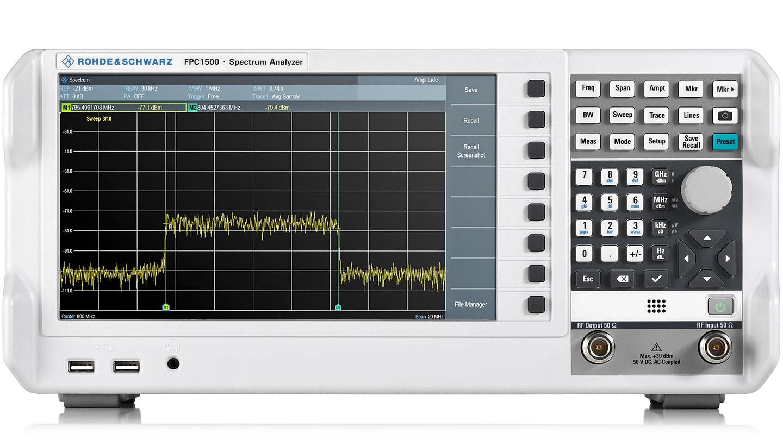 R&S FPC1500 三合一频谱分析仪