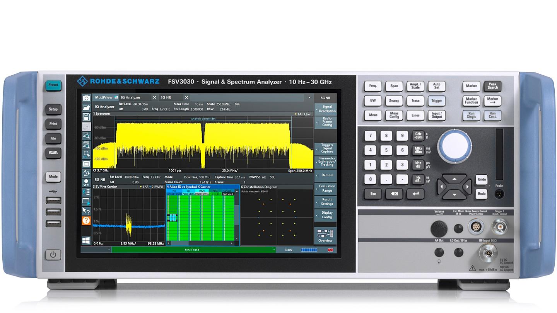 R&S FSV3000 信号与频谱分析仪