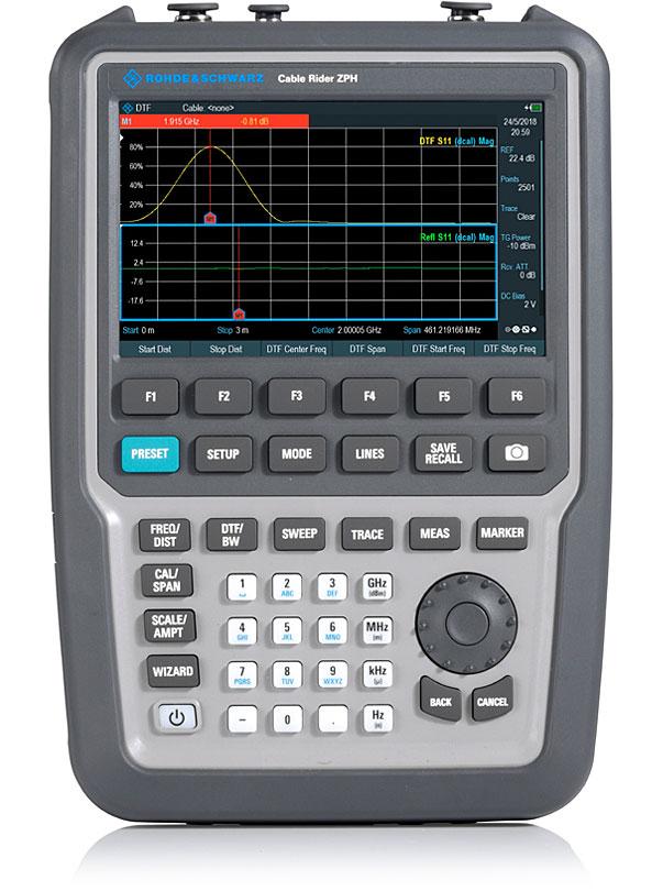 R&S ZPH 手持式电缆和天线分析仪